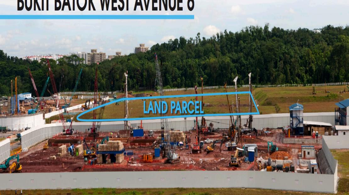 Bukit Batok West ave 6 site