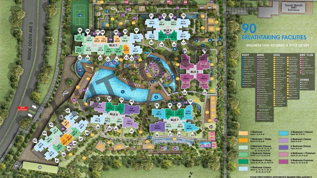grandeur park site plan +65 61008160