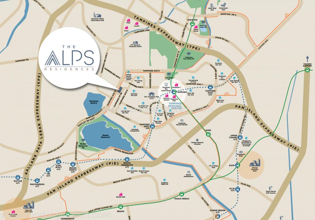Alps location