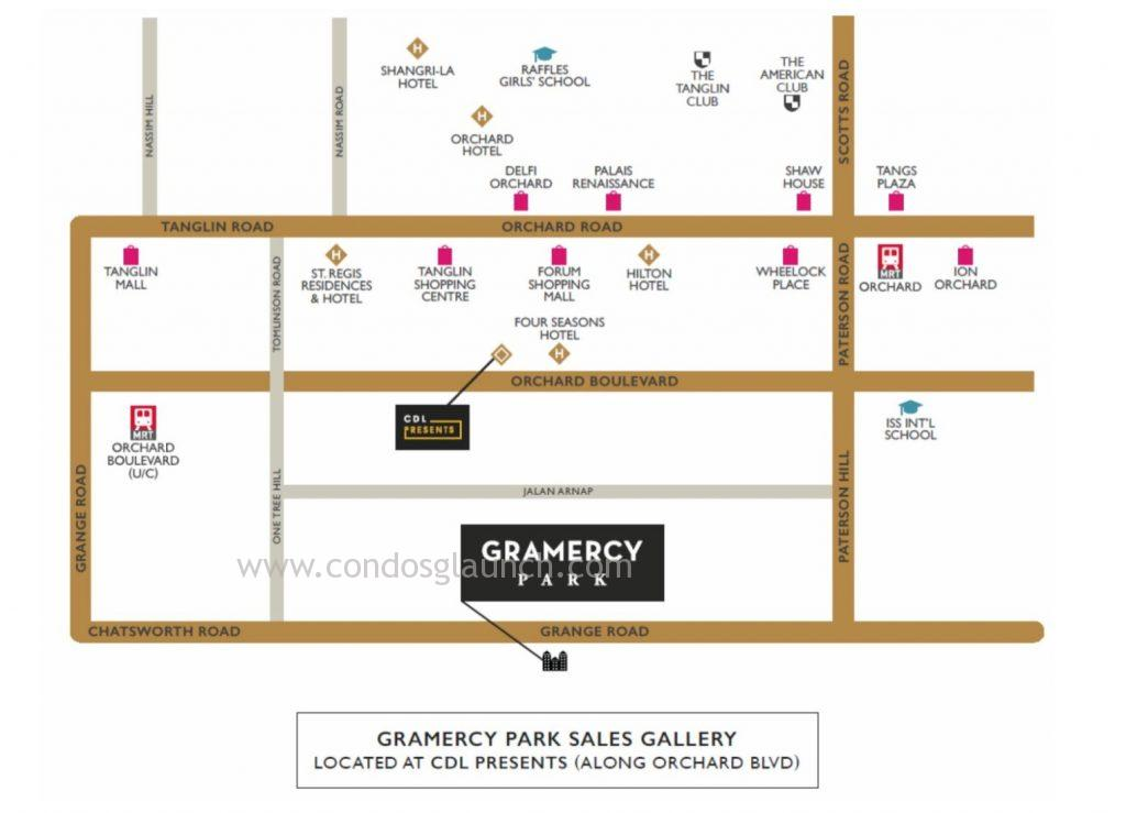 Gramercy-Location-Map