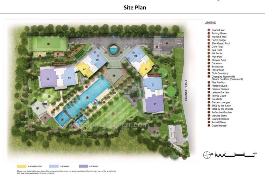 Gramercy Site Plan