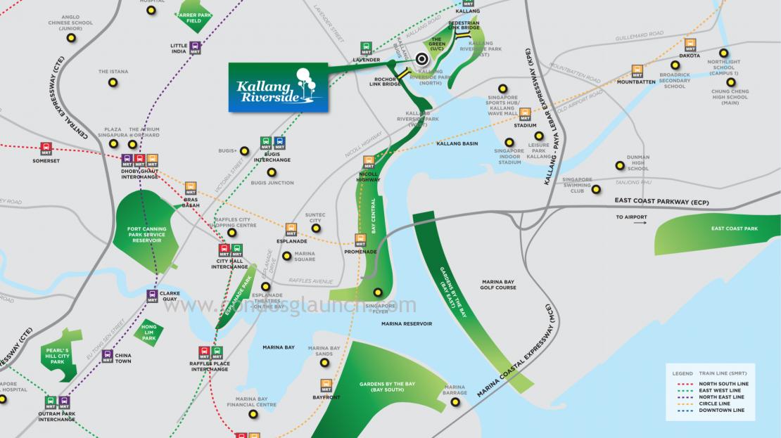 Kallang Riverside Location