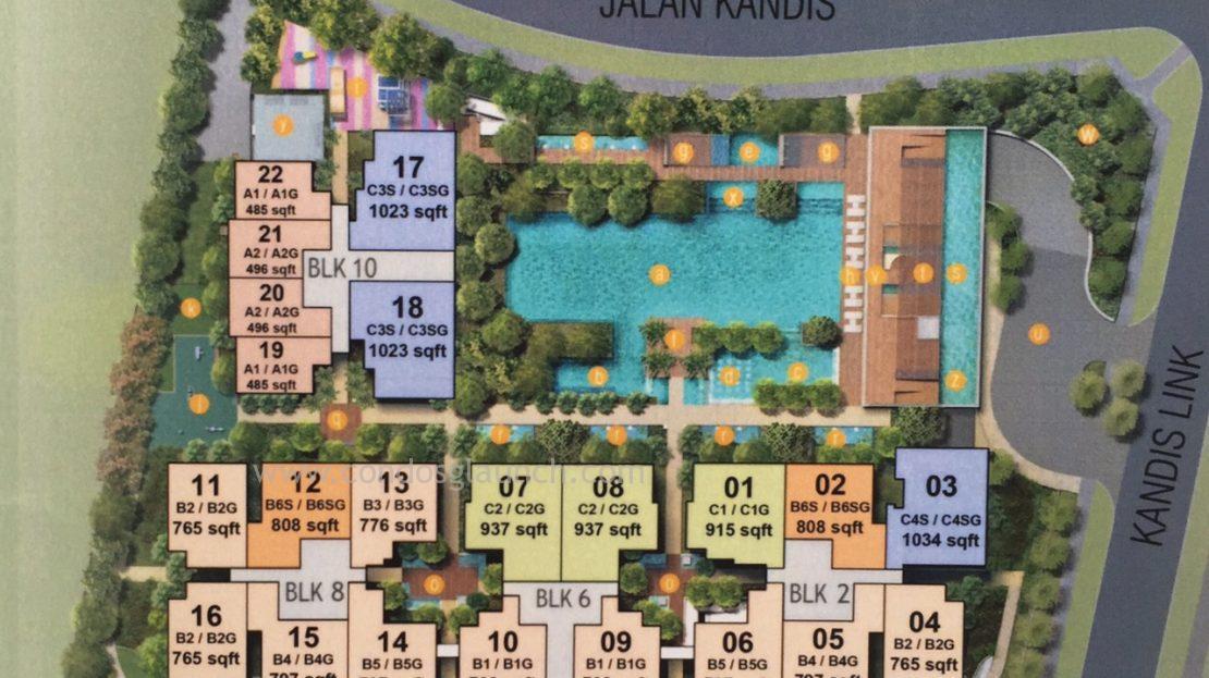 Kandis Residence Site Plan