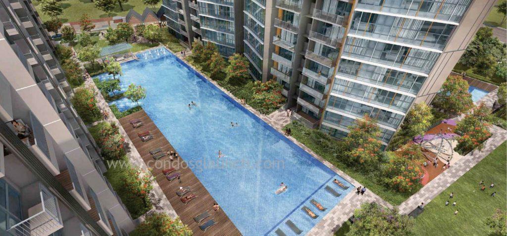 Sims Urban Oasis Sprawling Recreation Space