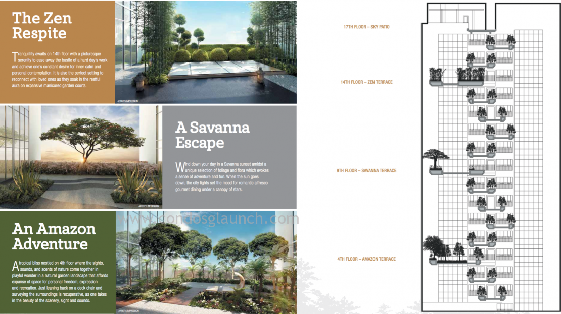 TRE Residences Sky Garden