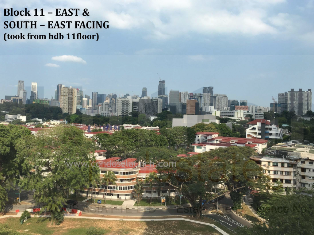 Highline Residences view from blk 11