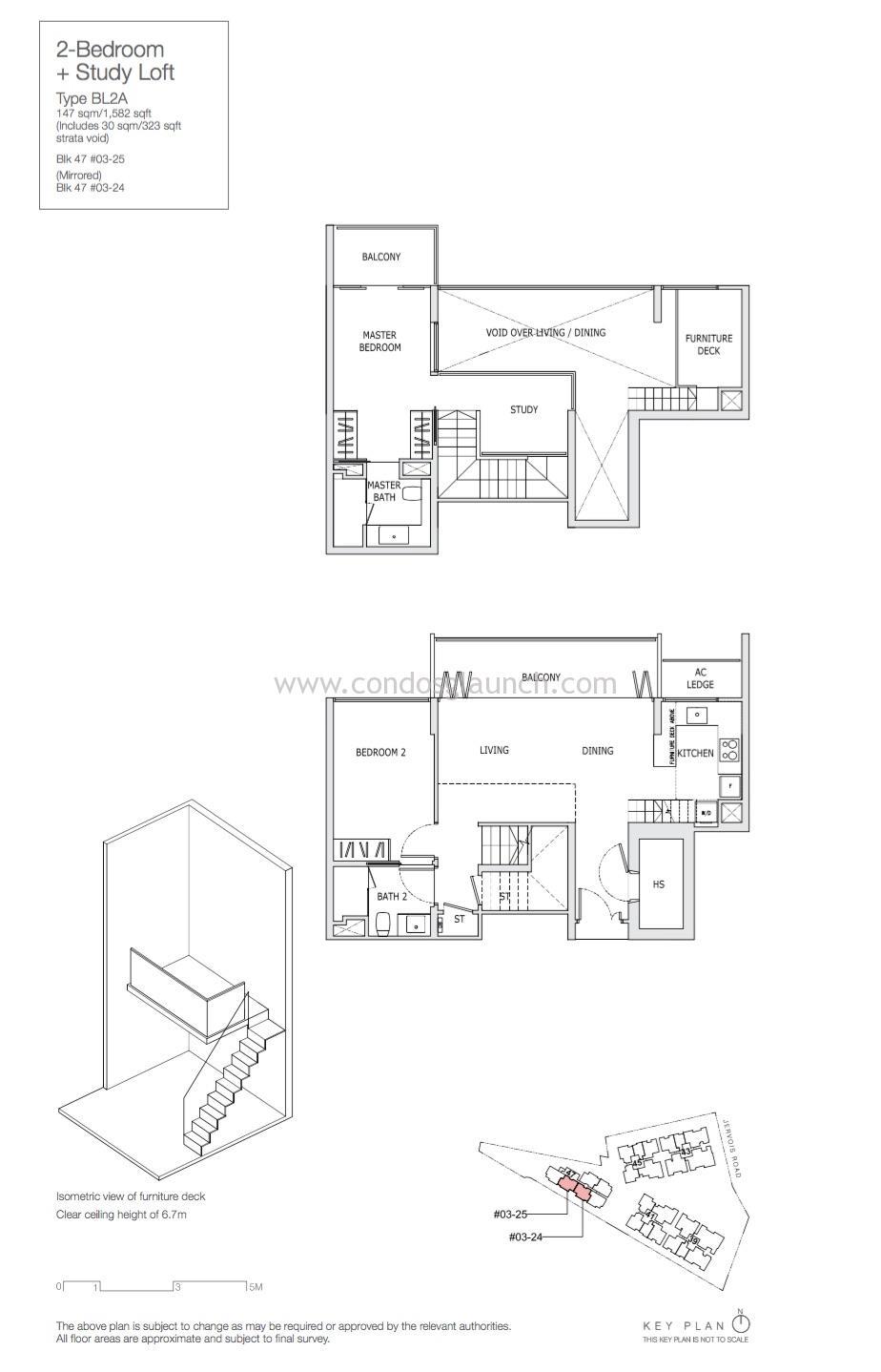 2+Study Loft