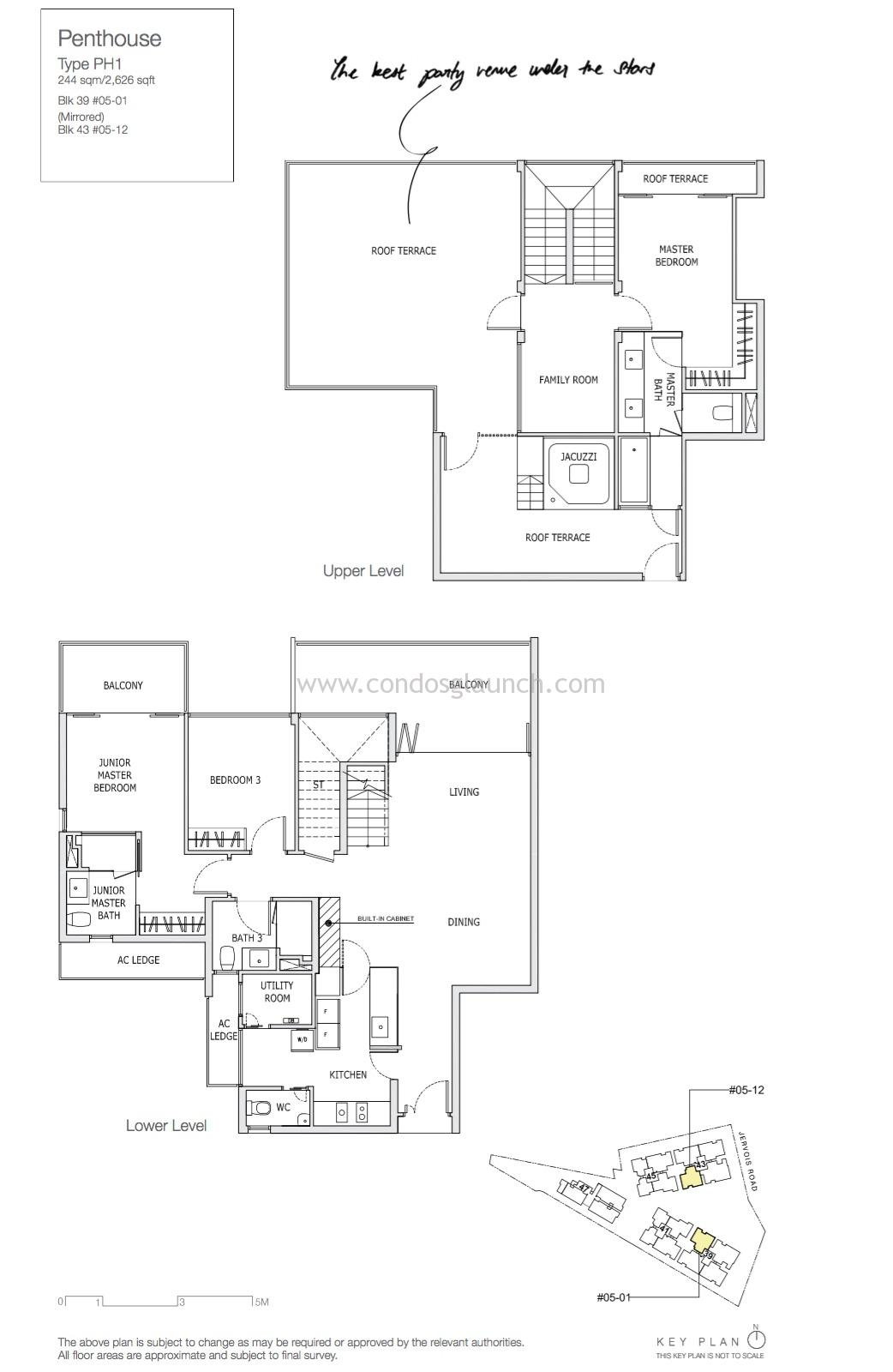 3 + Family Penthouse
