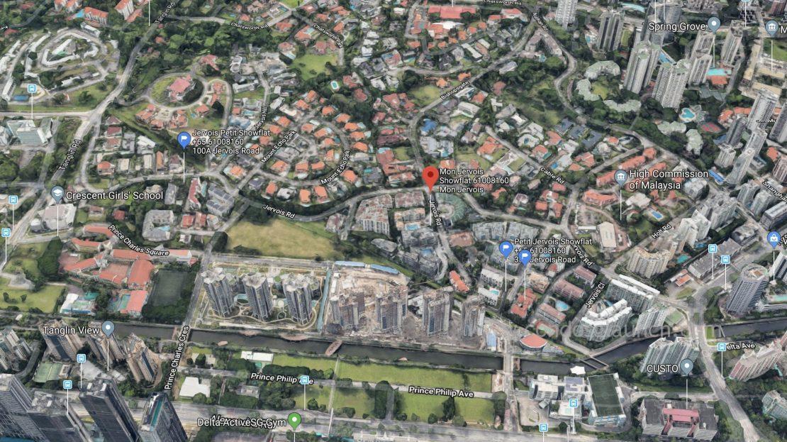 Mon Jervois Location Map 61008160