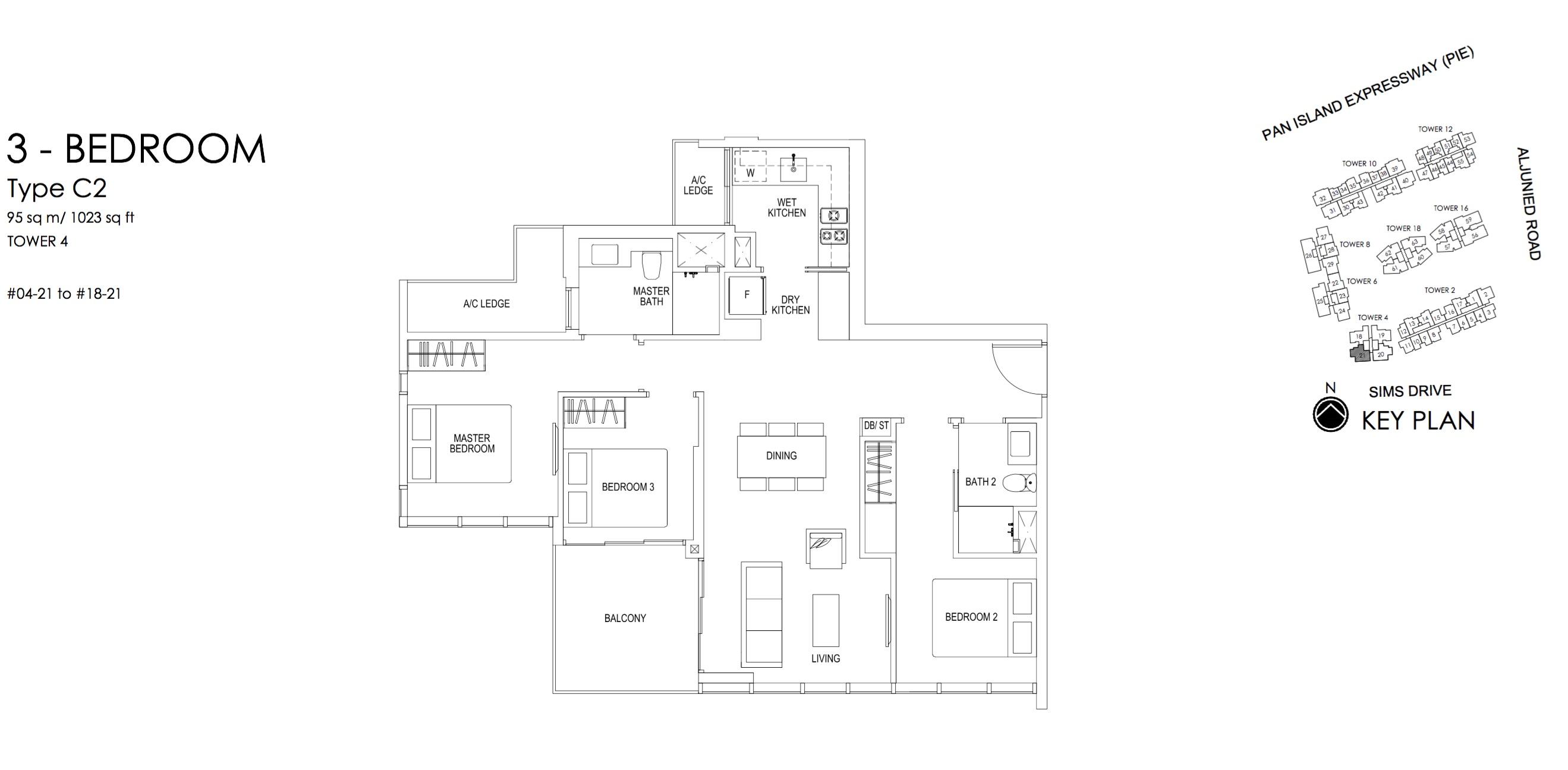 Sims Urban Oasis Floor Plan