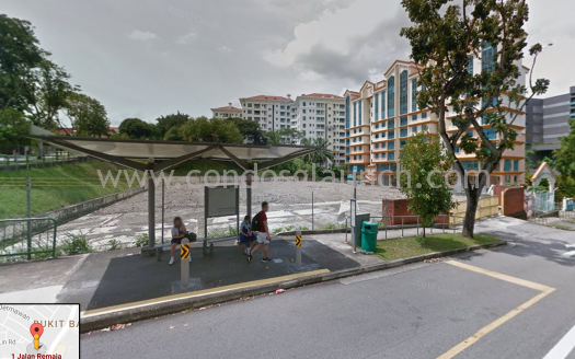 Tuan Seng Bought freehold land parcel at hillview (Jalan Remaja)