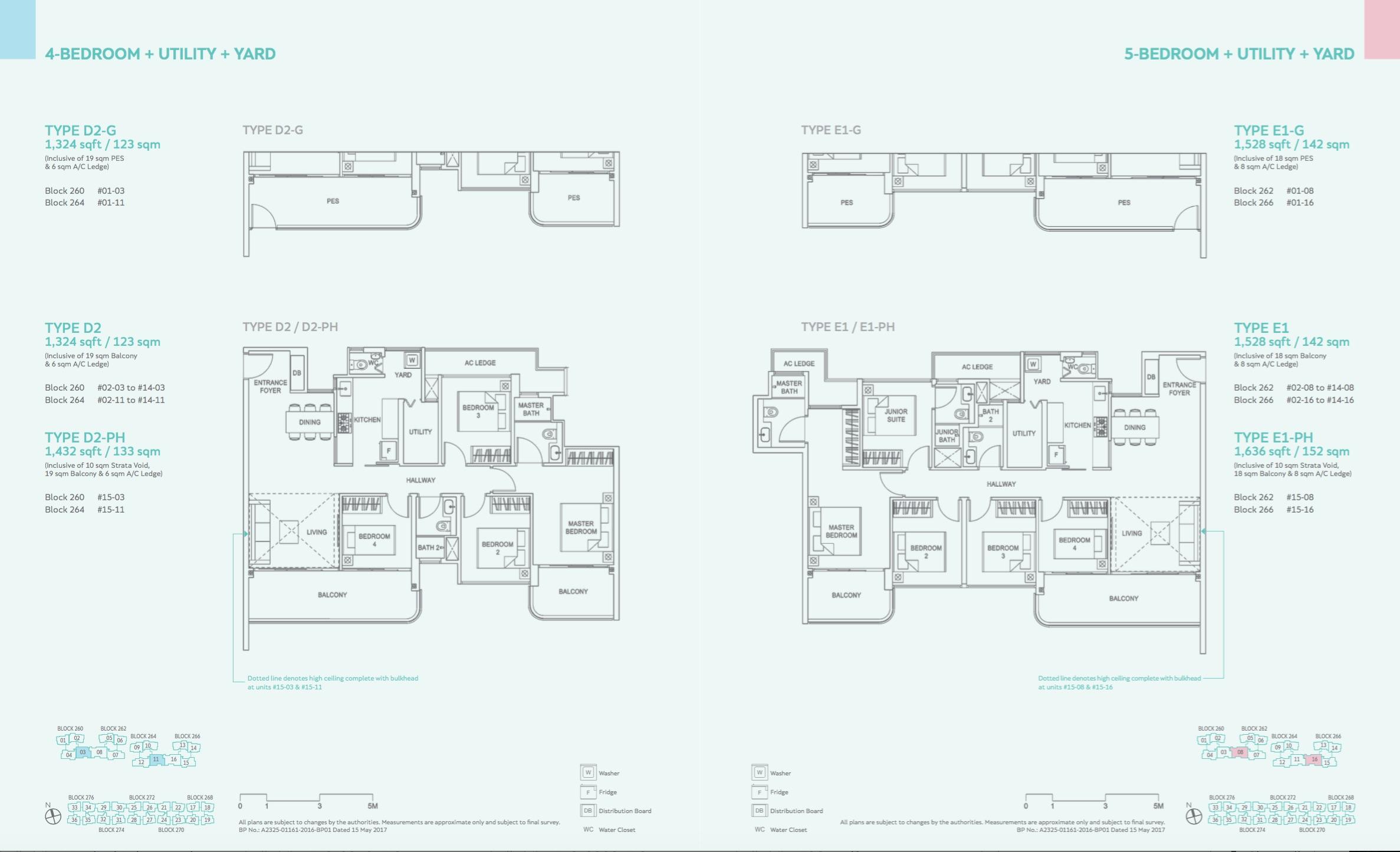 4 Bedroom / 5 Bedroom