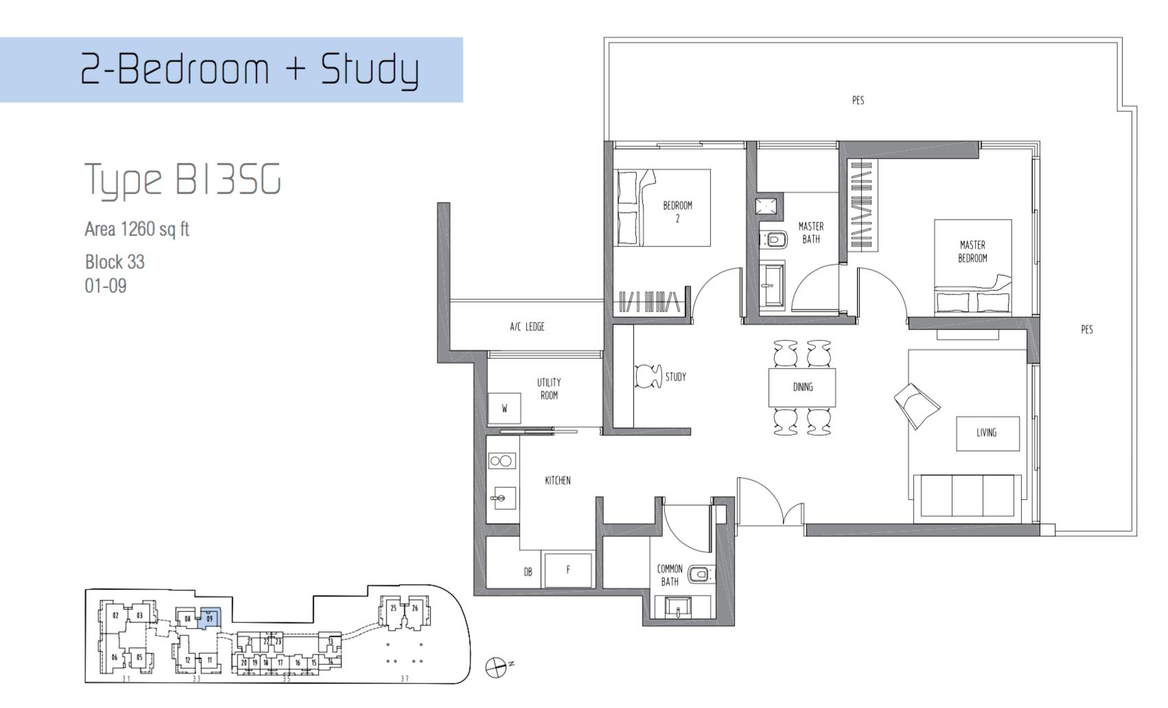 2 + Study Ground Unit