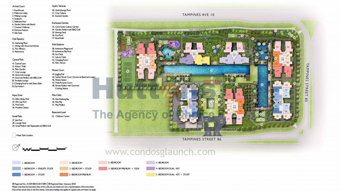 The Tapestry Site Plan