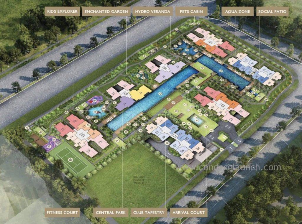 The Tapestry Site Plan 61008160