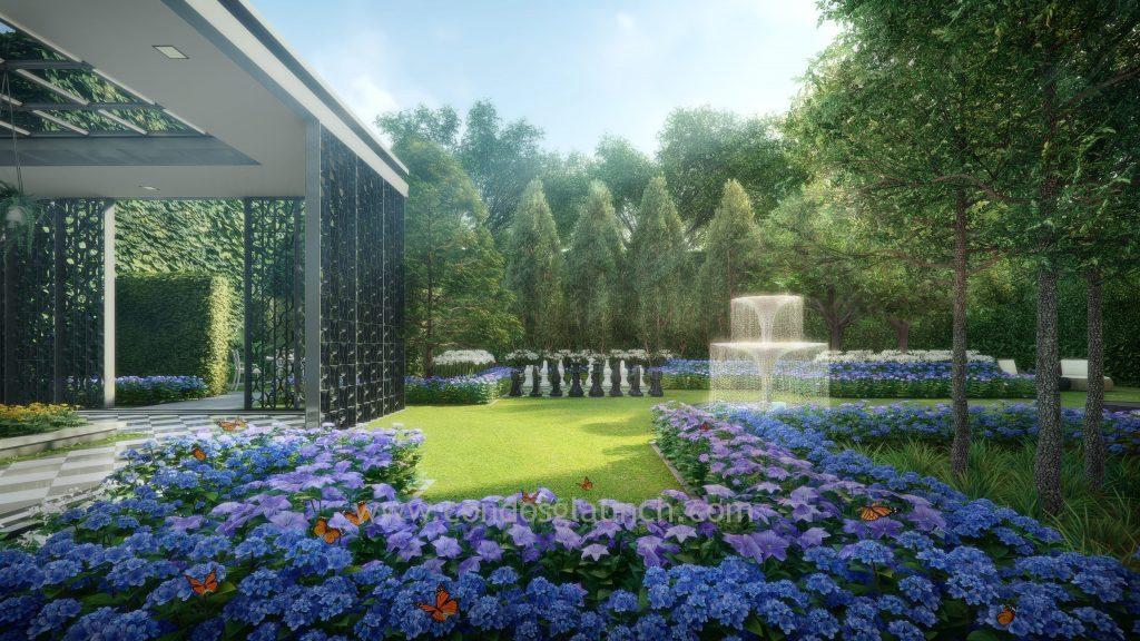 park colonial garden park
