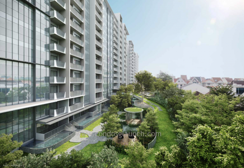 The Garden Residences Side View