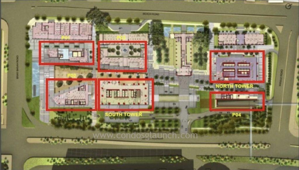 South Beach Residences Floor plan