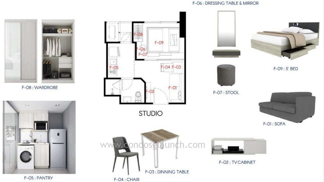 Rise Phahon Studio Furniture