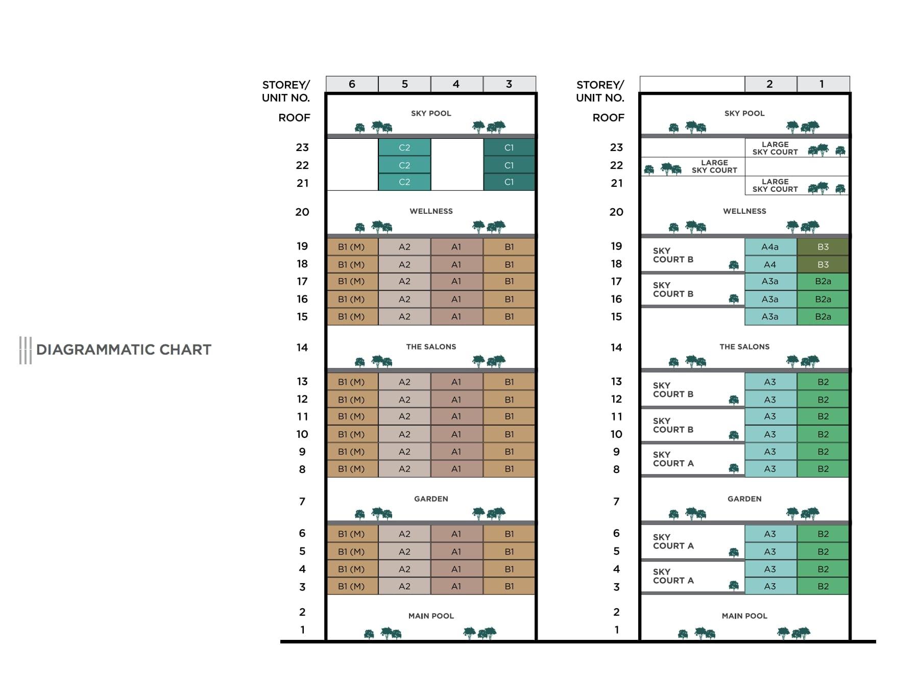 3 Cuscaden Diagrammetric Chart