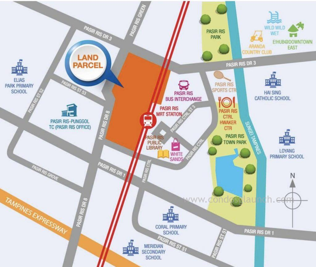 Pasir ris central land parcel 61008160