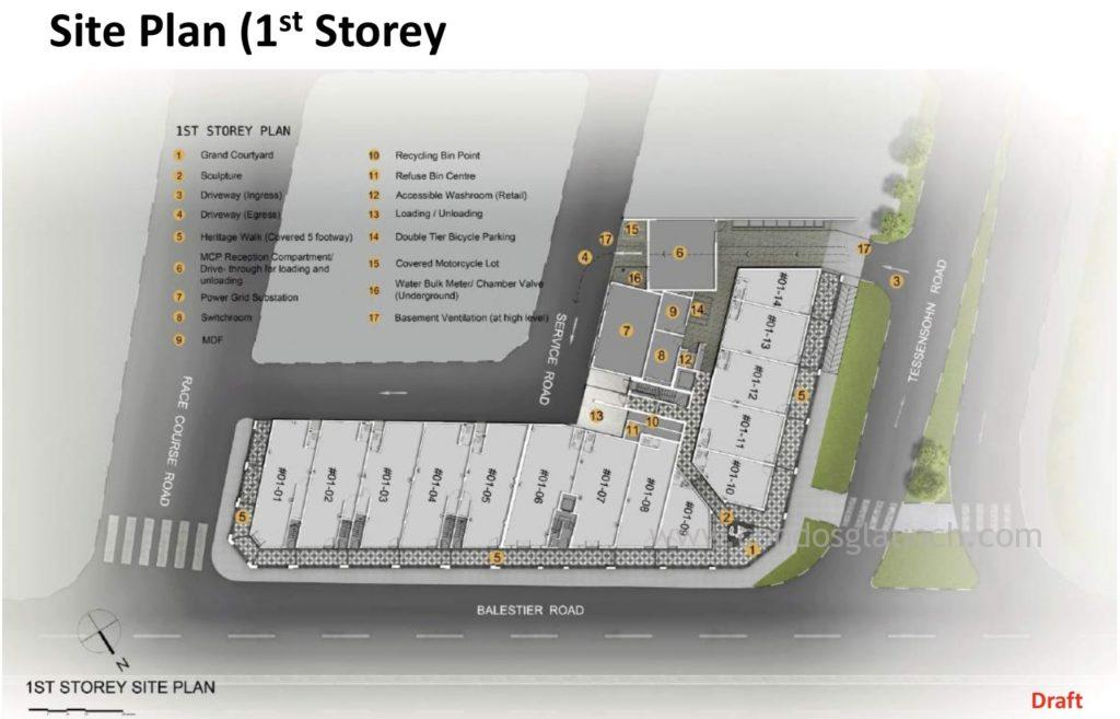 1953 Tessensohn Site Plan 61008160