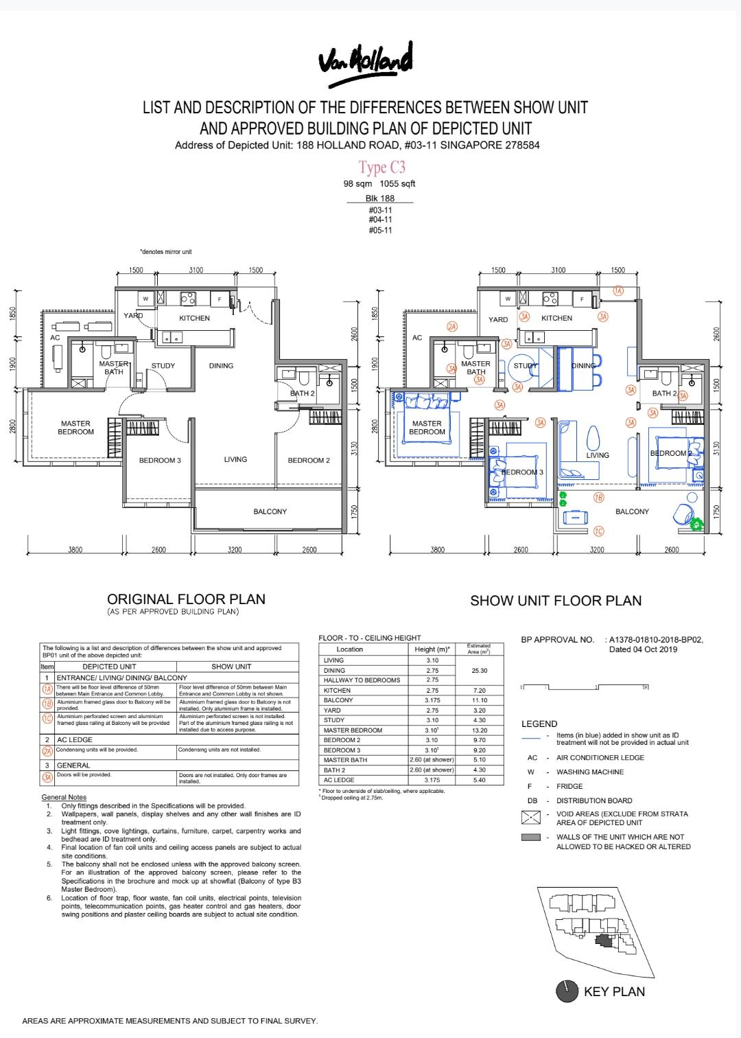 Van Holland Floor Plan